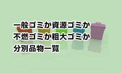 不燃 大田 ごみ 区